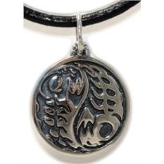 Серебряная подвеска Инь-Янь