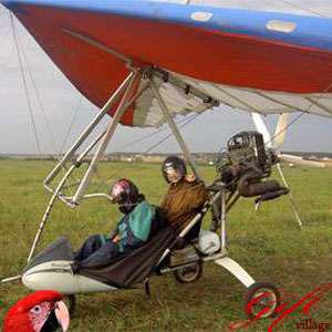 Полеты на мотодельтаплане