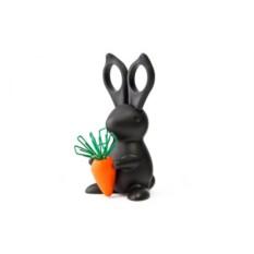 Ножницы и магнит для скрепок Кролик