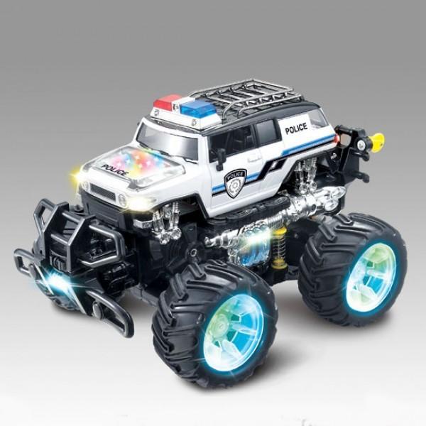 Радиоуправляемый трюковой джип Acrobatic Dancing Police Car