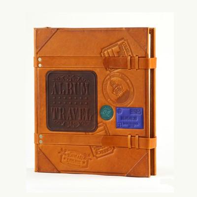 Альбом для фотографий из кожи