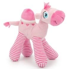 Мягкая игрушка Маленький розовый верблюжонок (13 см)