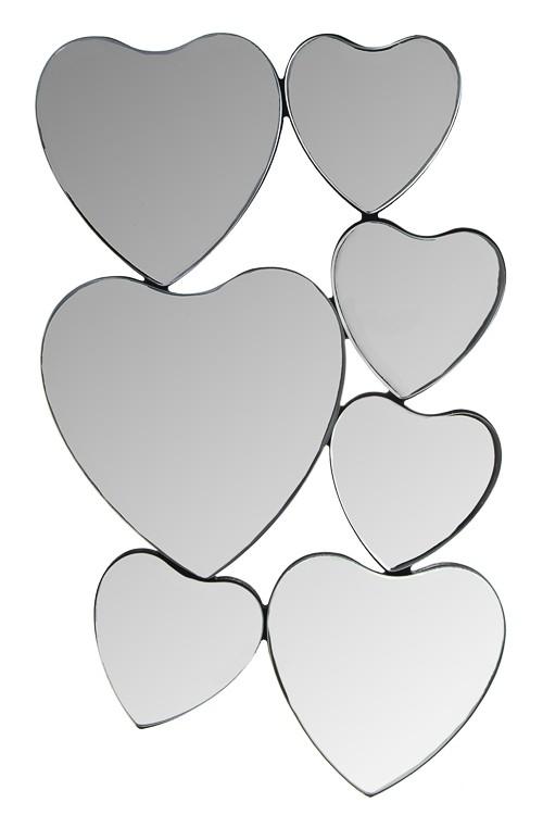 Настенное зеркало Сердца