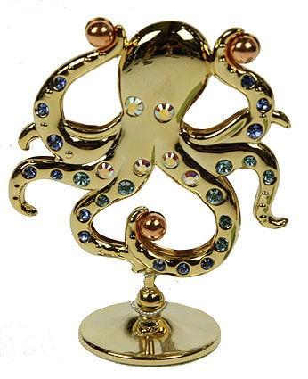 Фигурка декоративная Swarovski Осьминог