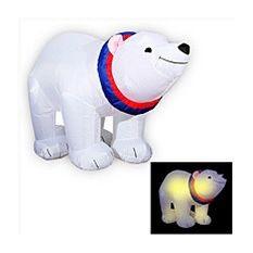 Надувная фигура Медведь-полярник