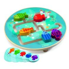 Развивающая игра-головоломка «Рыбки»