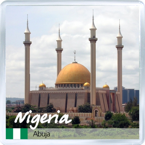 Магнит: Нигерия. Национальная мечеть Абуджа