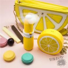 Мини-вентилятор Лимон