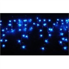 Уличная гирлянда Сосульки мерцающие из 100 синих LED-ламп