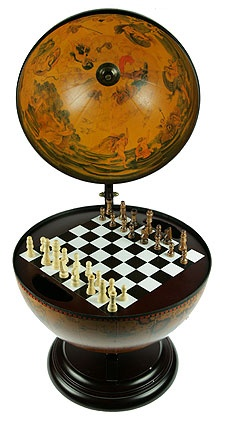 Настольный глобус-шахматы