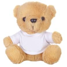 Мягкая игрушка «Медвежонок Умка в футболке» (цвет: бежевый)