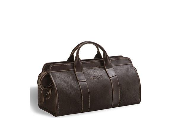 Дорожная коричневая сумка Brialdi Cremona