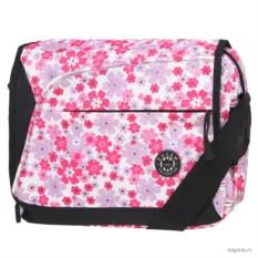 Розовая сумка Polar School Цветы