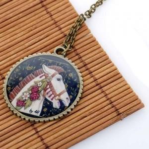 Медальон Лошадка