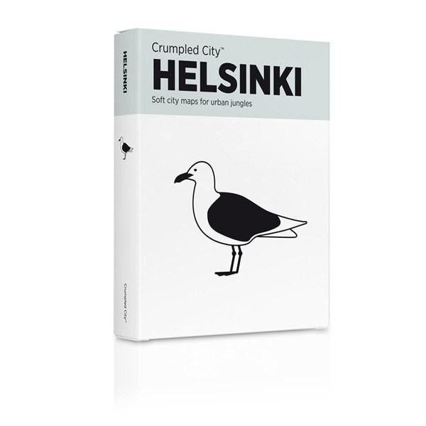 Карта Хельсинки, мятая