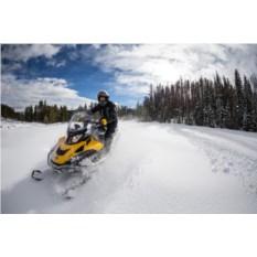 Сафари на двух 1-местных снегоходах для двоих (120 минут)