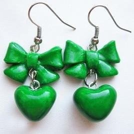 Серьги Green Love