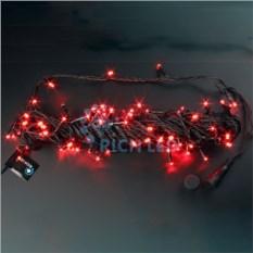 Красная светодиодная нить 10 м