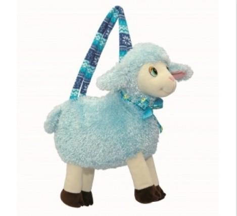 """Сумочка """"Голубая овечка"""" с конфетами"""