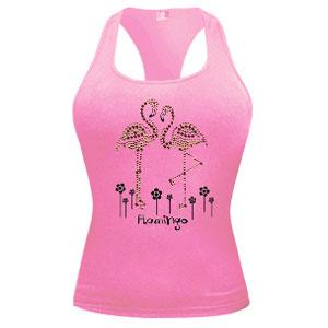 Майка «Розовый фламинго»