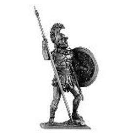 Сувенирный оловянный солдатик (некрашеный)
