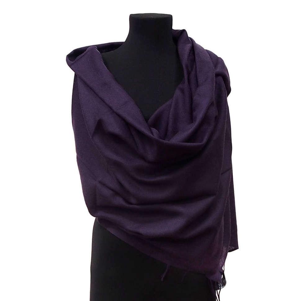 Женский темно-фиолетовый палантин Coveri Collection