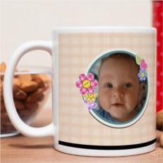 Фотокружка С рождением ребёнка!