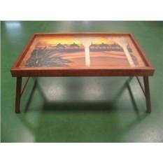Столик для завтрака в кровати Караван в закате