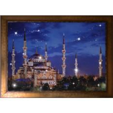 Картина с кристаллами Сваровски Синяя Мечеть