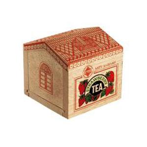 Чай чёрный с ароматом клубники