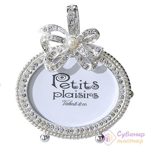 Фоторамка Petits plaisirs, круглая c бантом