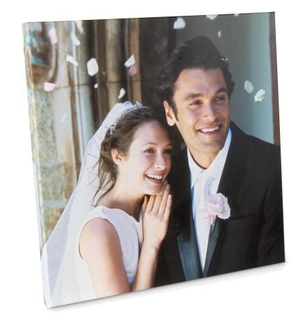 Свадебные фото на холсте