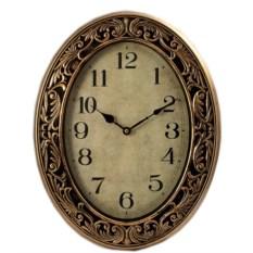 Овальные настенные часы Антик
