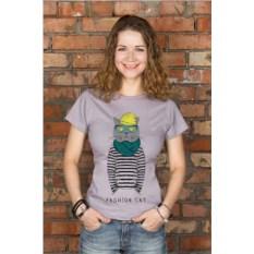 Женская футболка с вашим текстом Модник