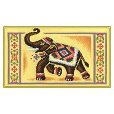 """...Пряжа по производителям Наборы для вышивания PANNA Вышивка бисером: Набор для вышивания PANNA  """"Индийский слон """" ."""