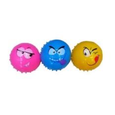 Резиновая игрушка Массажный мяч Смайлики