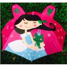 Детский зонт с ушками Принцесса с лягушкой