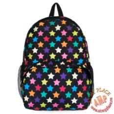 Черный рюкзак Звездочки