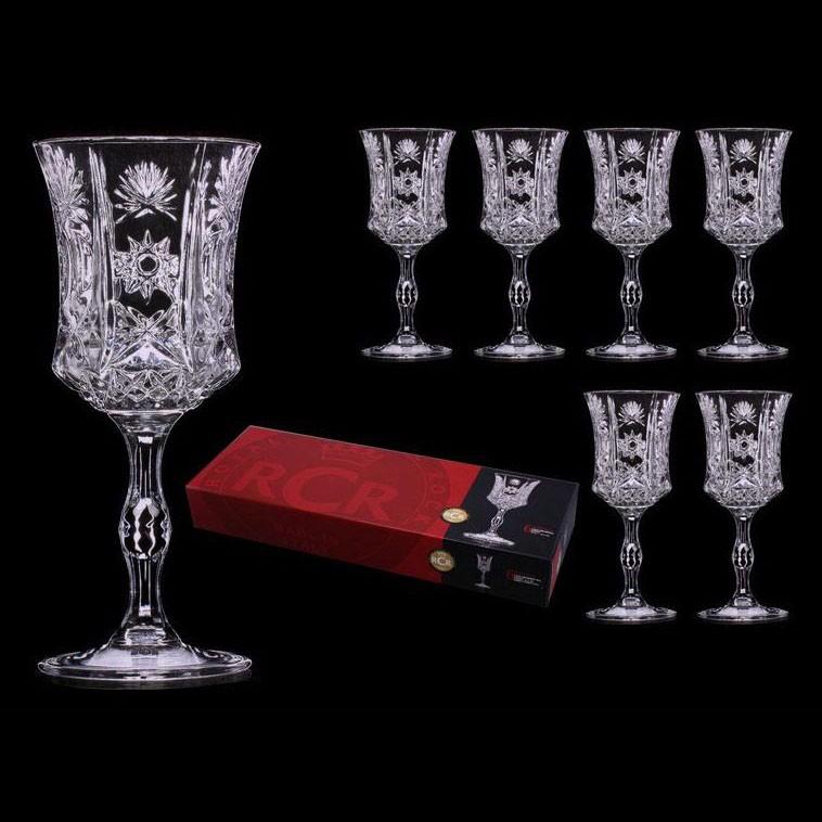 Набор 6 бокалов для вина 160 мл RCR Имперо 305-108