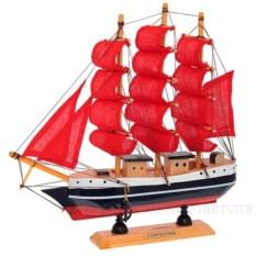 Модель корабля с алыми парусами Confection
