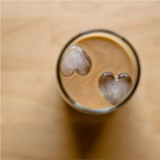 Пластиковая форма для льда Сердца