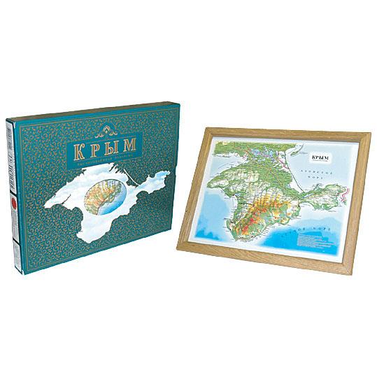 Объёмная карта «Крым»