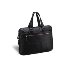 Деловая черная сумка для документов Brialdi Paterson