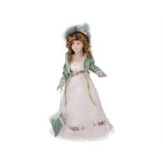 Фарфоровая кукла Анна-Мария с мягконабивным туловищем