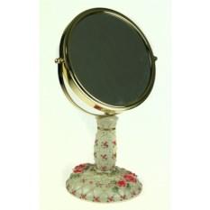 Круглое настольное зеркало Романтика