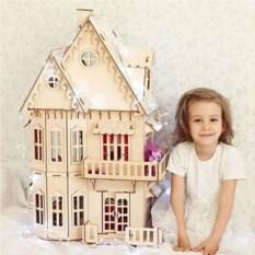 Деревянный конструктор Домик принцессы