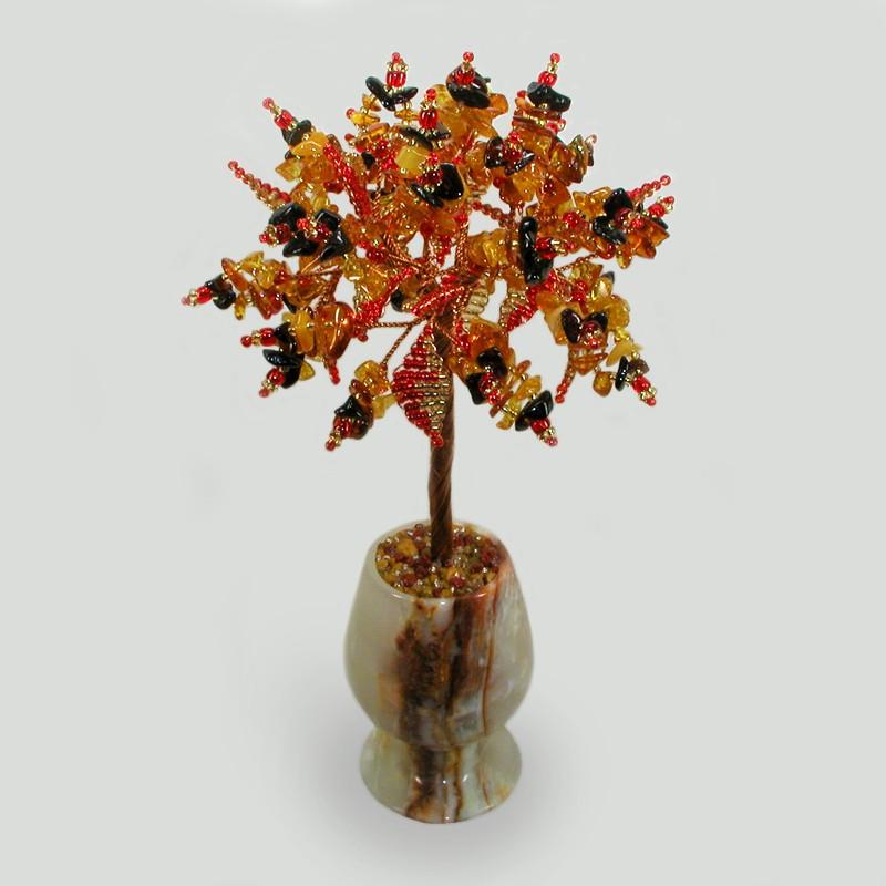 Дерево из янтаря Янтарный рай