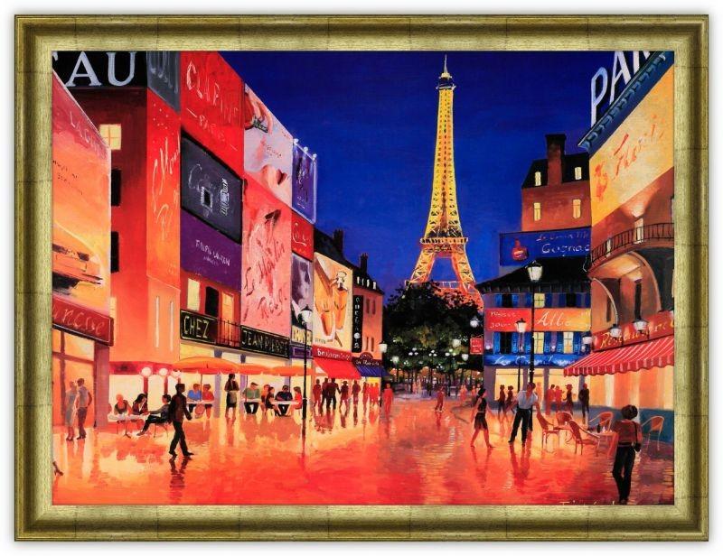 Постер Вечер в Париже (Тристан Лопез)