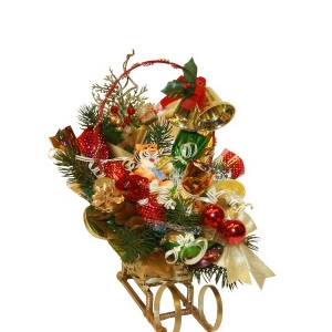 Букет конфет «Новогодние сани»
