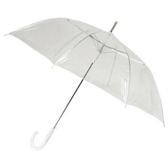 Зонт Белоснежный (прозрачный)